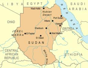 sudan-map